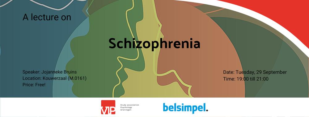 """VIP: Lecture """"Understandig Schizophrenia"""""""