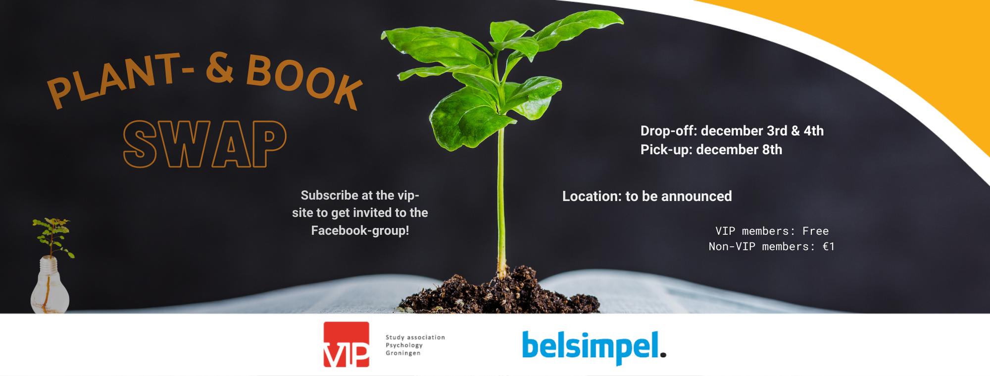 VIP: Plant- & Bookswap