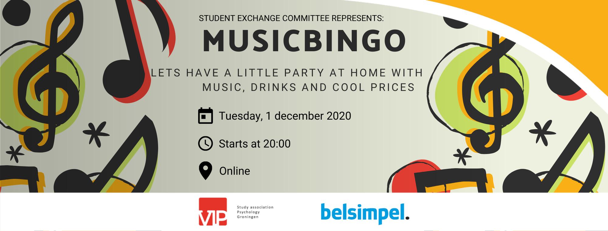 VIP: Drinks Seccie Music Bingo