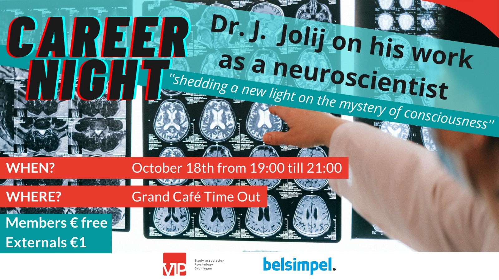 Career Event: Dr.Jolij on his work as a Neuroscientist