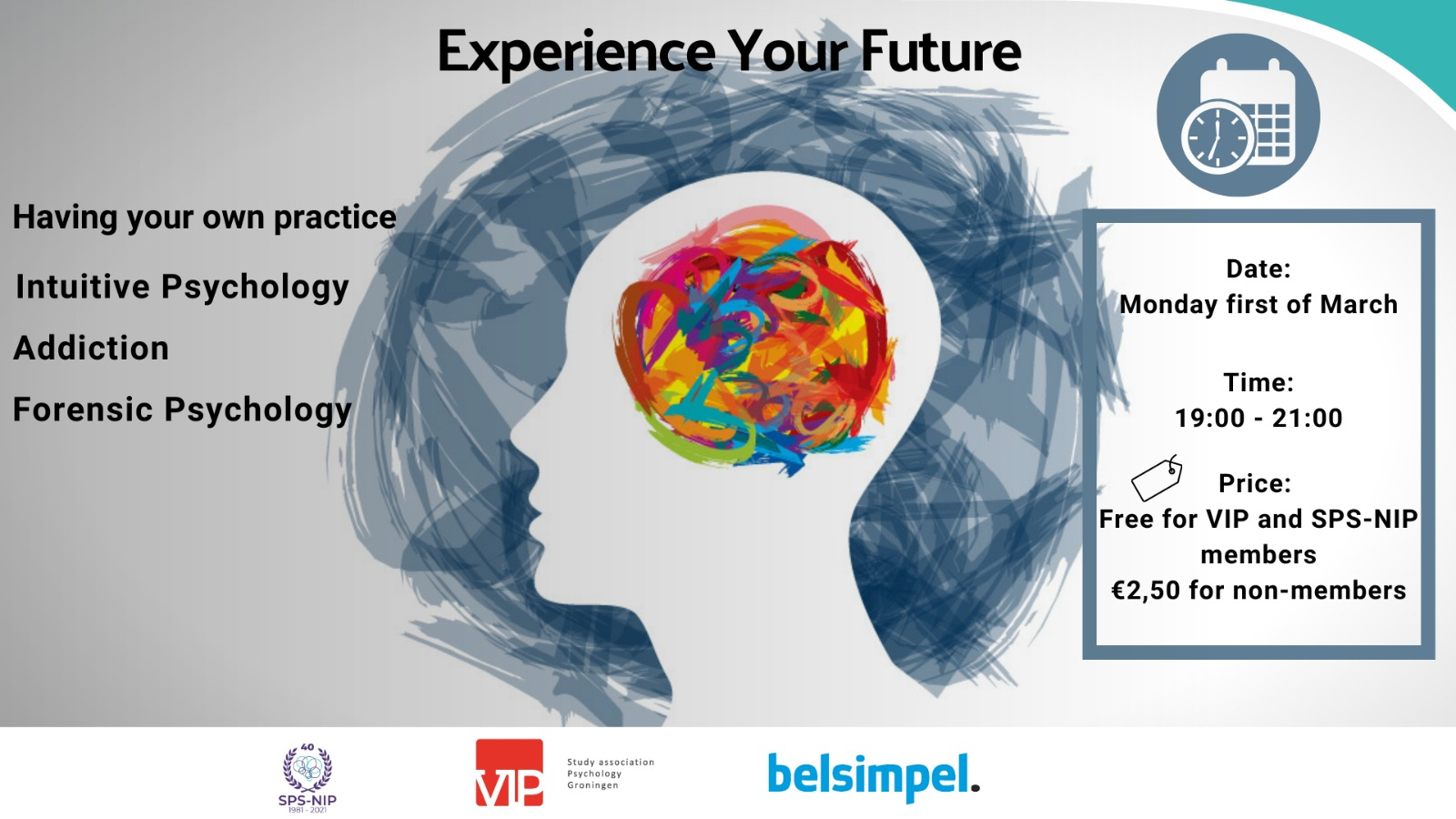 VIP: Experience your future Clinical Psychology
