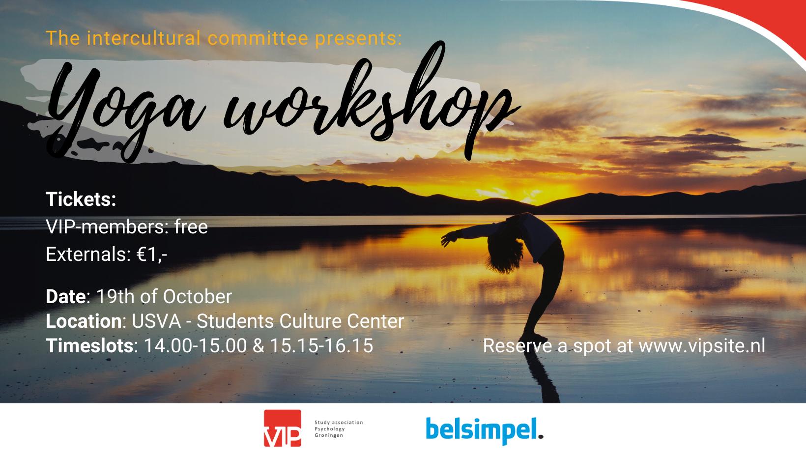 VIP: Intercultural - Yoga Workshop