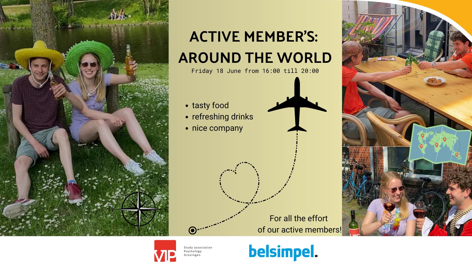 Active Members: Around the world
