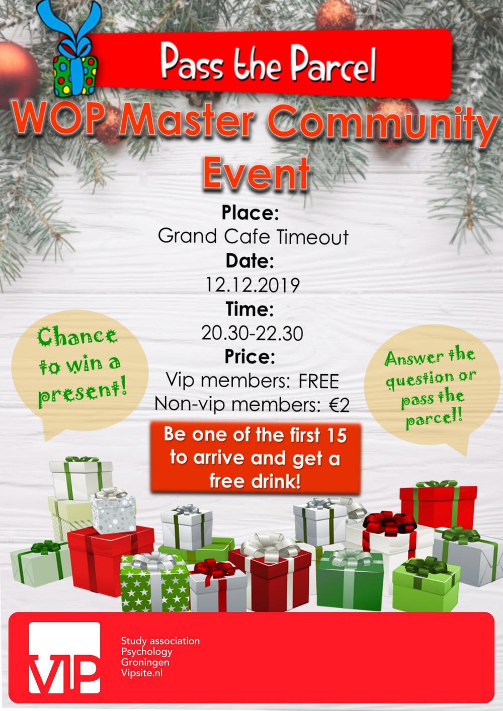 Master Community Social Activity