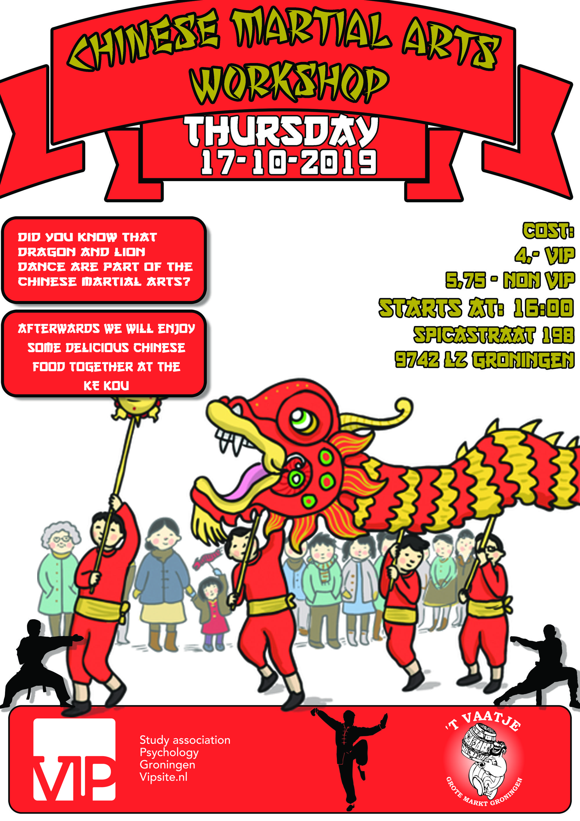 Chinese Martial Arts Workshop