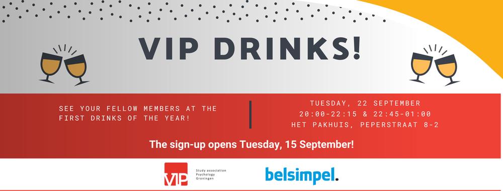 VIP Drinks September