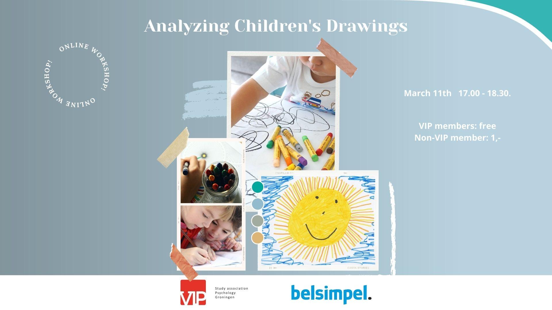 VIP Workshop: Analyzing Childrens Drawings