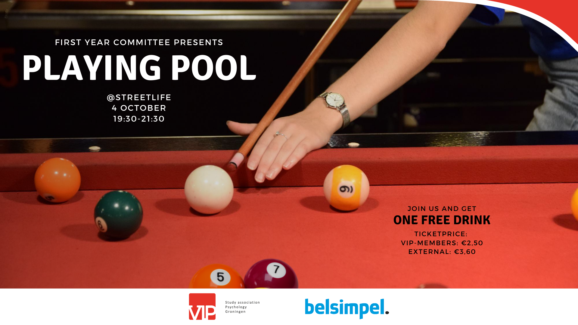 First Year Activity: Pool